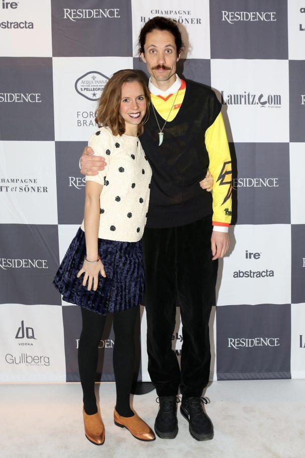 Anton Alvarez och Ingrid Öhlund