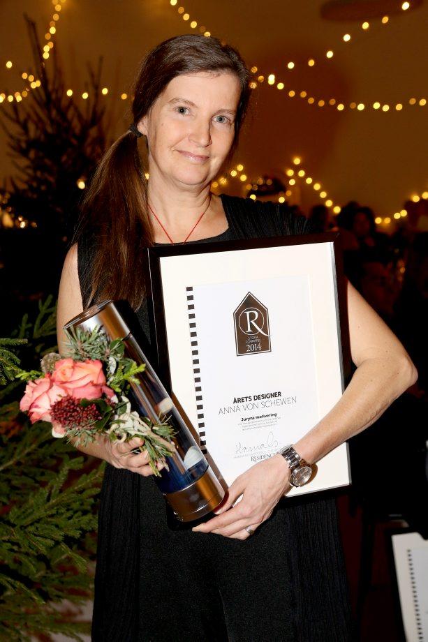 Residence stora formpris_arets designer Anna von schewen