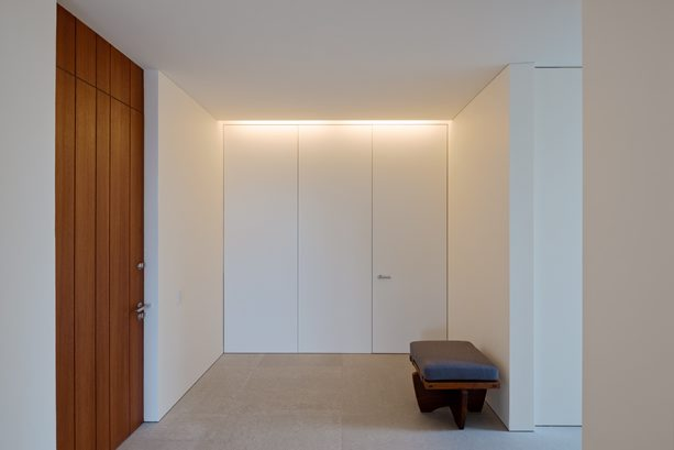 Pawsons svenska stuga residence for Minimal space