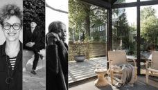 Bild på Tina Hellberg, Johnny Andersson och Sutip Austad som tipsar om växthus.