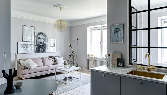 Compact living dr m med 9 smarta l sningar residence - Pared acristalada ...
