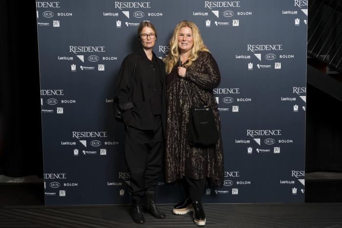 Carina Seth Andersson, designer, Lotta Agaton, stylist.