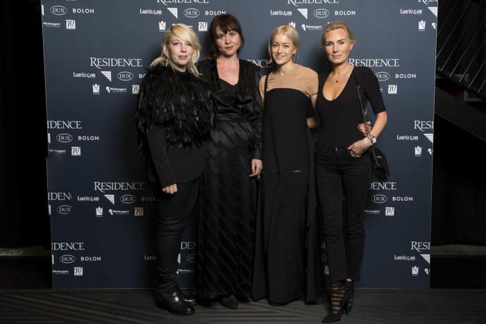 Chandra Ahlsell, Anna Holmquist, Folkform, Hanna Wessman