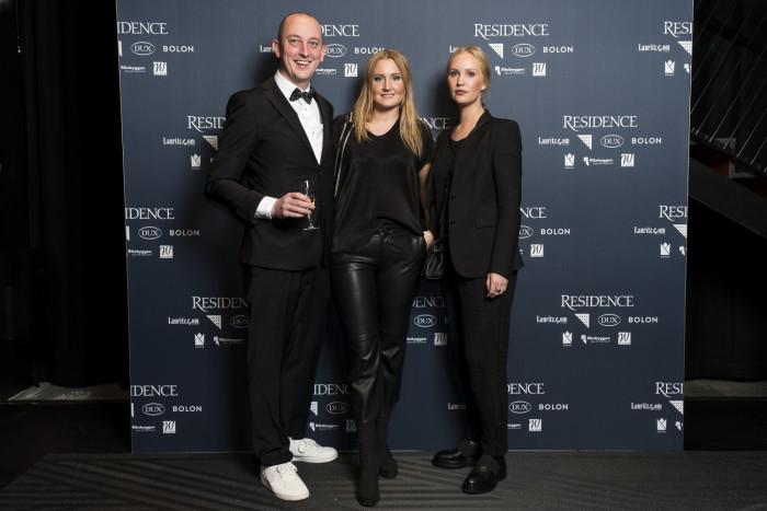 Martin Wendelbo, krönikör, Elin Kicken, stylist, Eva Lotta Sundling.