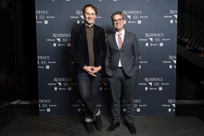 Petter Eklund, journalist, Mark Isitt, journalist.