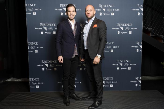 Viktor Petersson och Dennis Holm, Elite.
