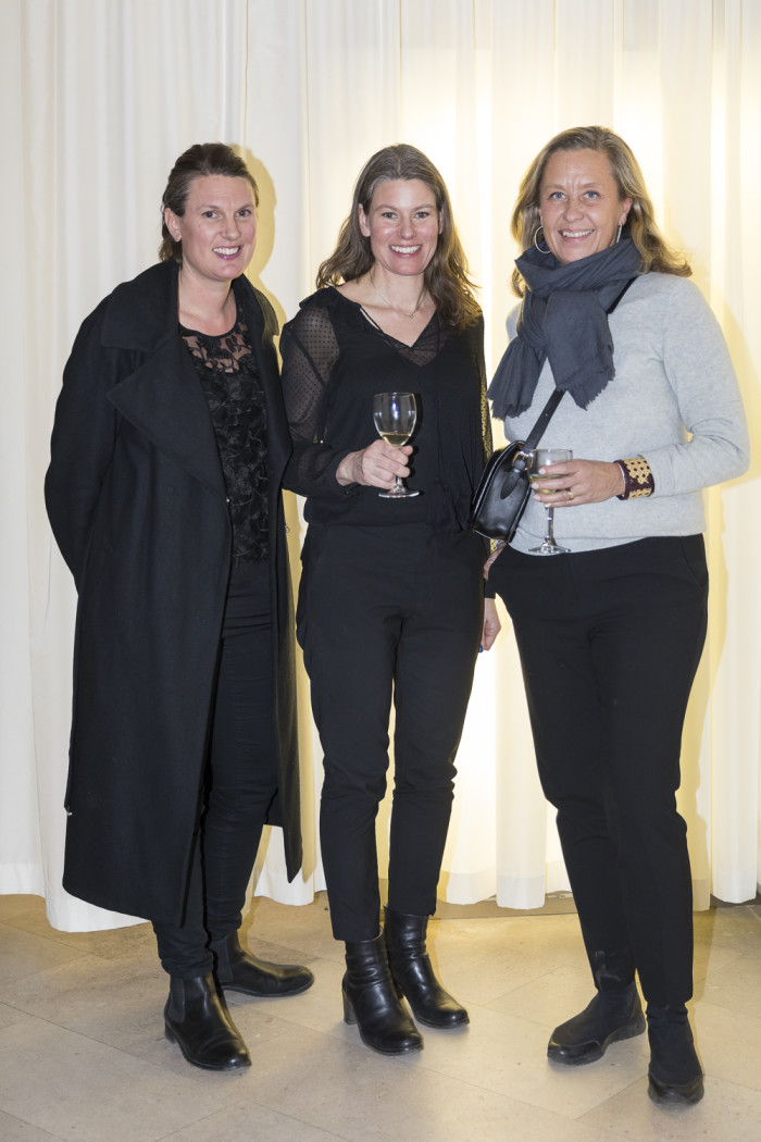 Catharina Herre Palmgrens, Emma Olbers och Hanna Hellgren.