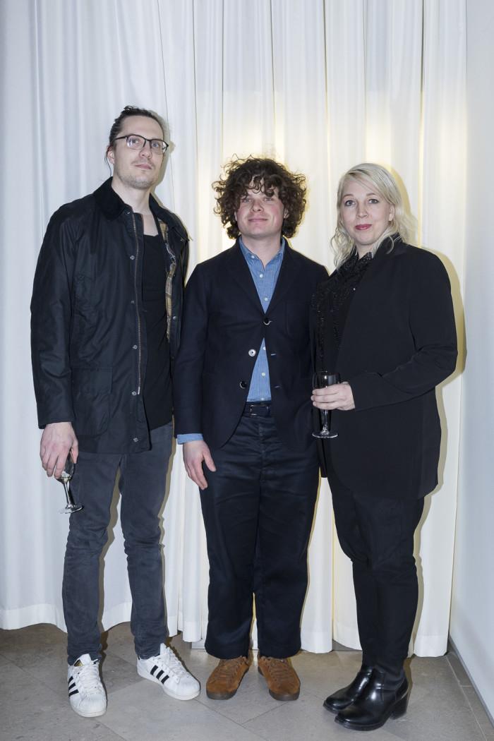 Matti Carlson, Chandra Ahlsell och Andy Liffner.