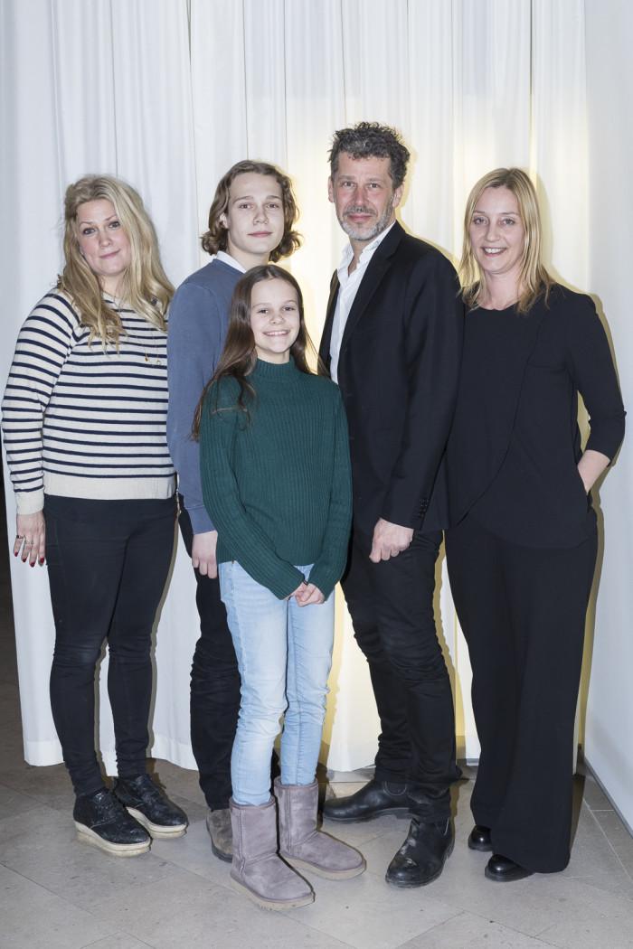 Christina Breeze, Johan Carpner, Vera Carpner Larsson, Ove Carpner och Moa Samuelsson.