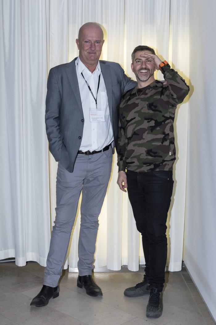 Claes Kanold och Rickard Larsson.