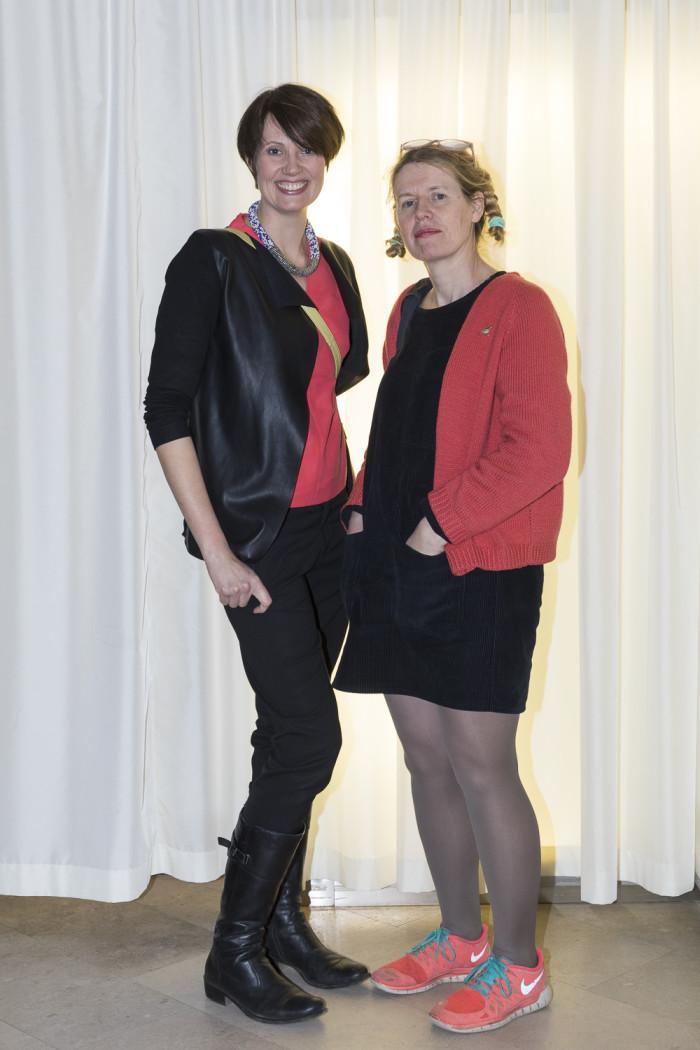 Anka Simone och Ineke Hans.