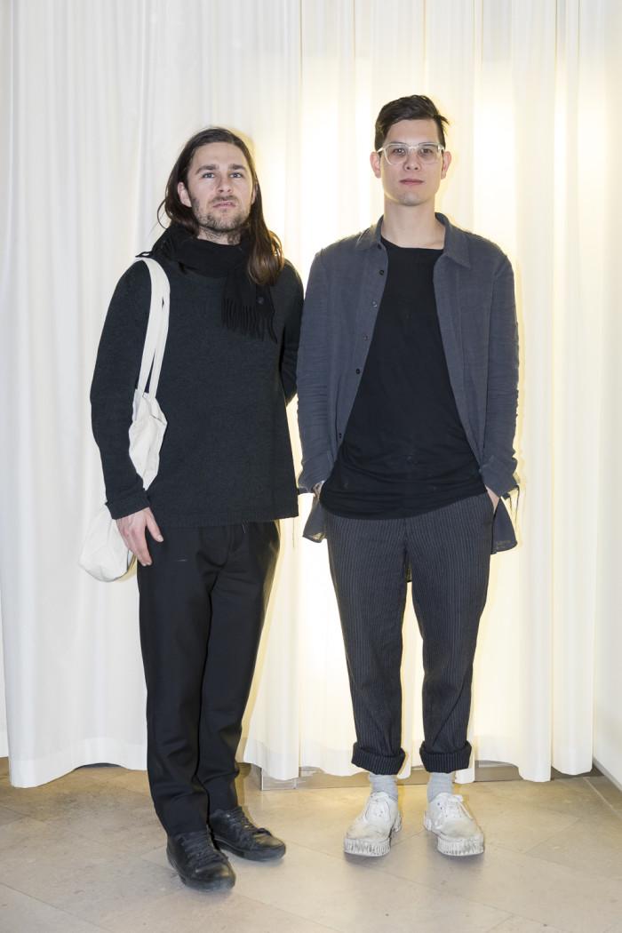 Niels Christophersen och Johan Chen från Frama.