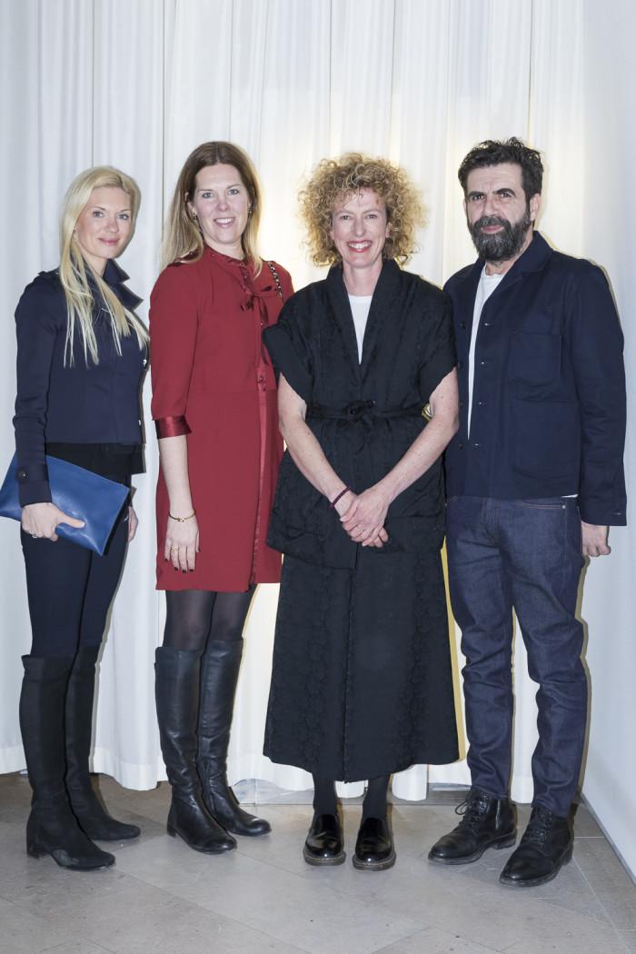 Maria Hartog-Holm, Karin Sköldberg, Jannicke Kråkvik och Alessandro D'Orazio.