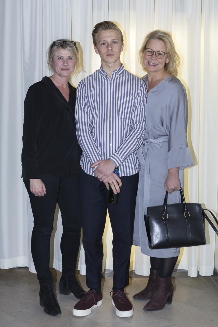 Maria Sjölander, Nils Abenius och Stina Abenius.