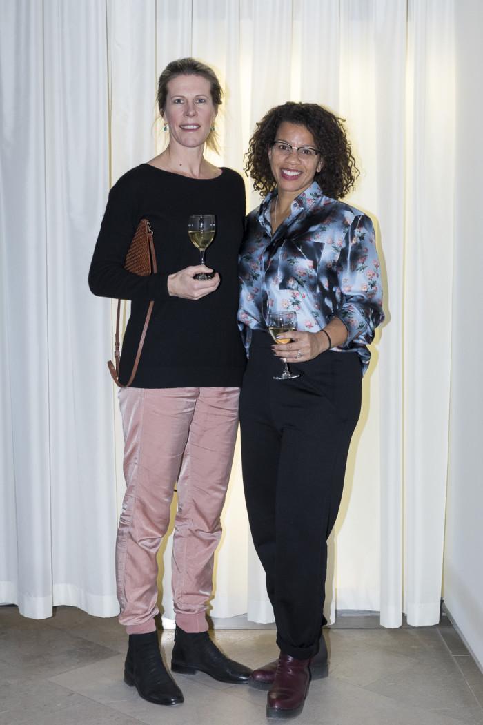 Marie Dahlberg och Christina Fredell.