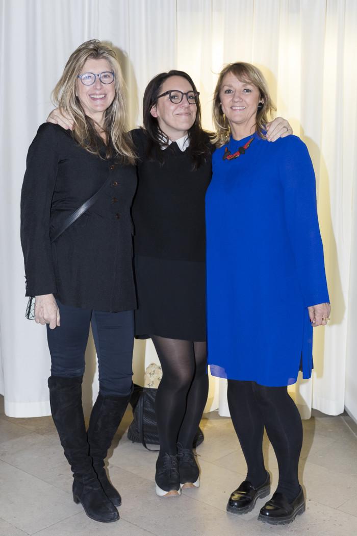 Miska Lovegrove, Hanna Nova och Ewa Kumlin.