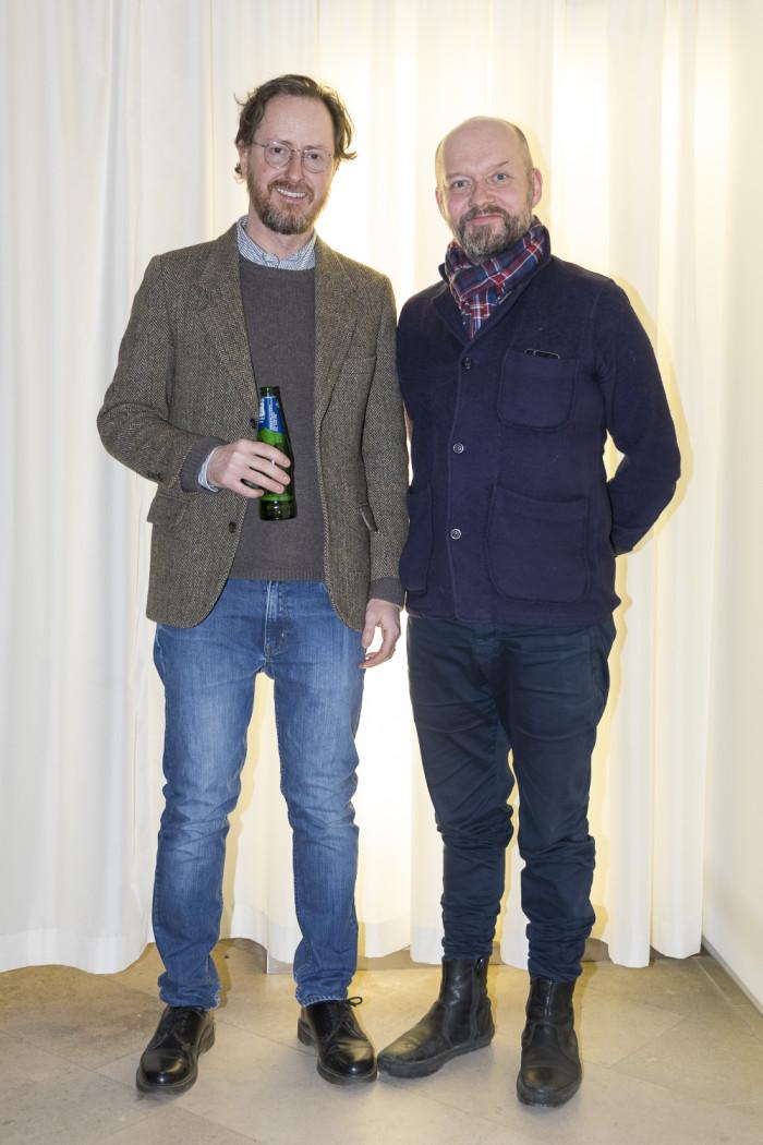 Rikard Lind och Anders Bergmark.