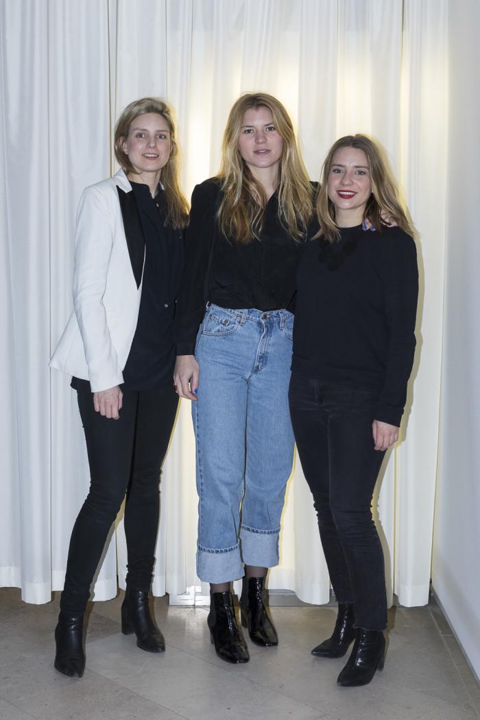 Sofia Bark, Johanna Bark och Katia Thöger.