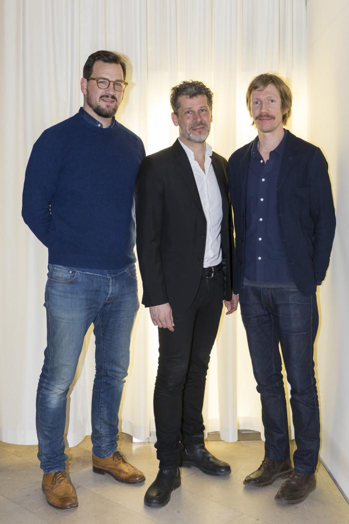 Staffan Holm, John Lövgren och Johan Karpner.