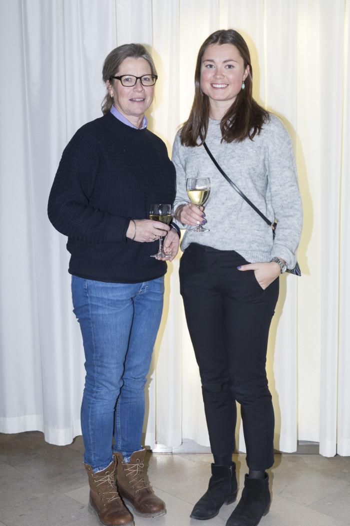 Therese Lundborg och Helena Lundborg.