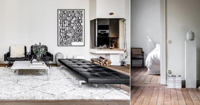 Kika in i design-och konstsamlarens genomtänkta hem