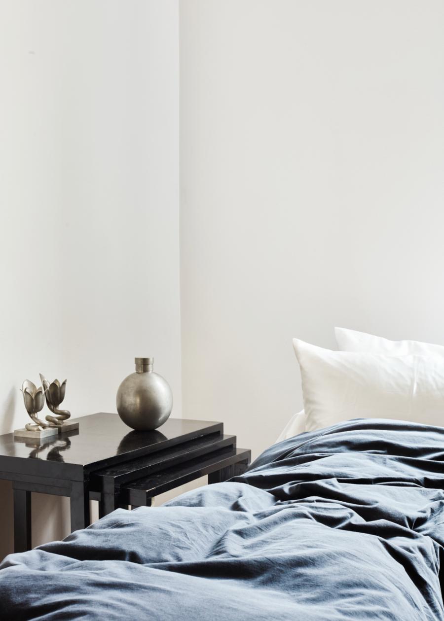 Titta in i vackra lägenheten stylad med Magnibergs sängkläder ... 41f749218077c