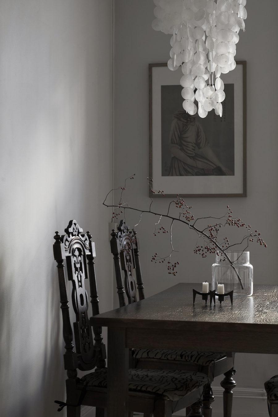 Köksbord från House hemma hos Michelle Meadows.