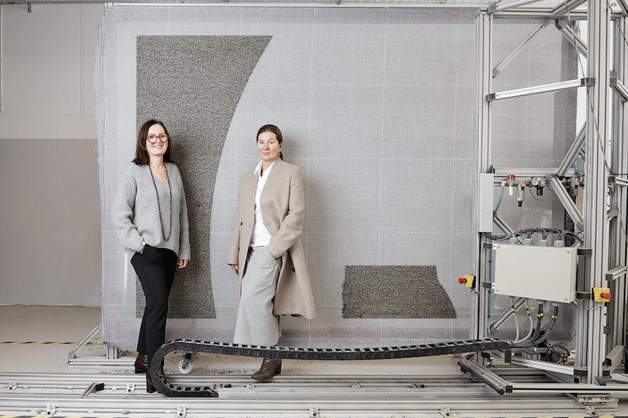 Bild på Lena Jiseborn tillsammans med Ilse Crawford.