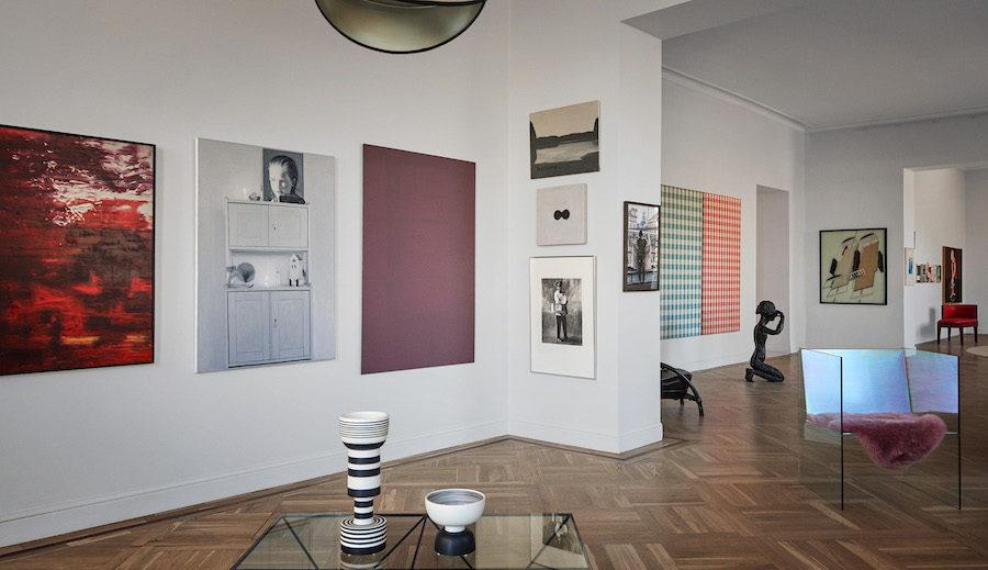 Bukowskis utställning Contemporary Art & Design.