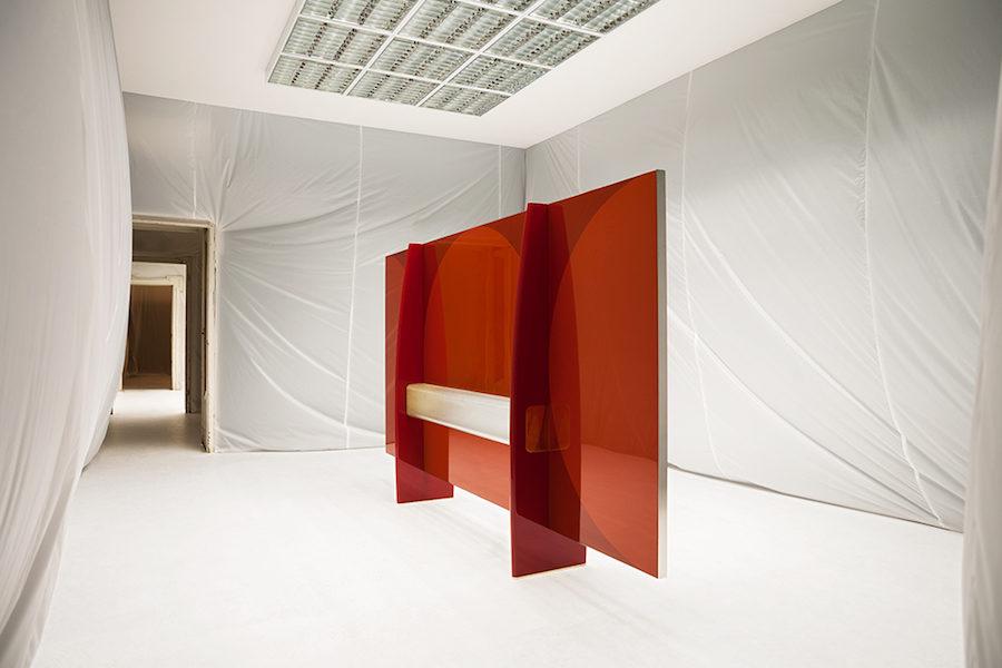 Bild på Dimores utställning Perfettamente Imperfetto.