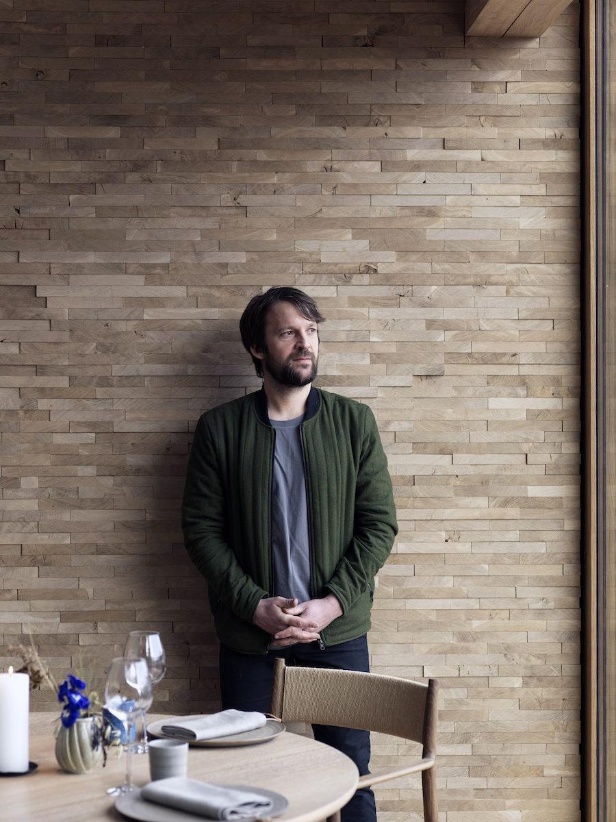 Porträtt på René Redzepi vid sin nya restaurang Noma 2.0.