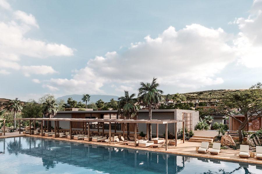 Hotellet ligger på stranden intill Chania på ön Kreta.