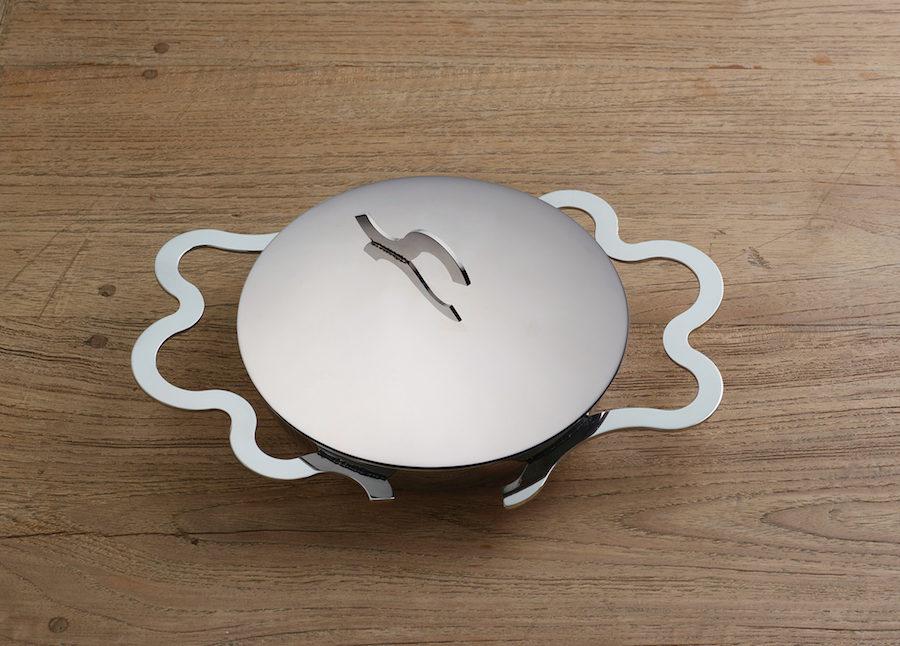 Bild på Alessis stekpanna Tegamino, gjord för att steka ägg i.