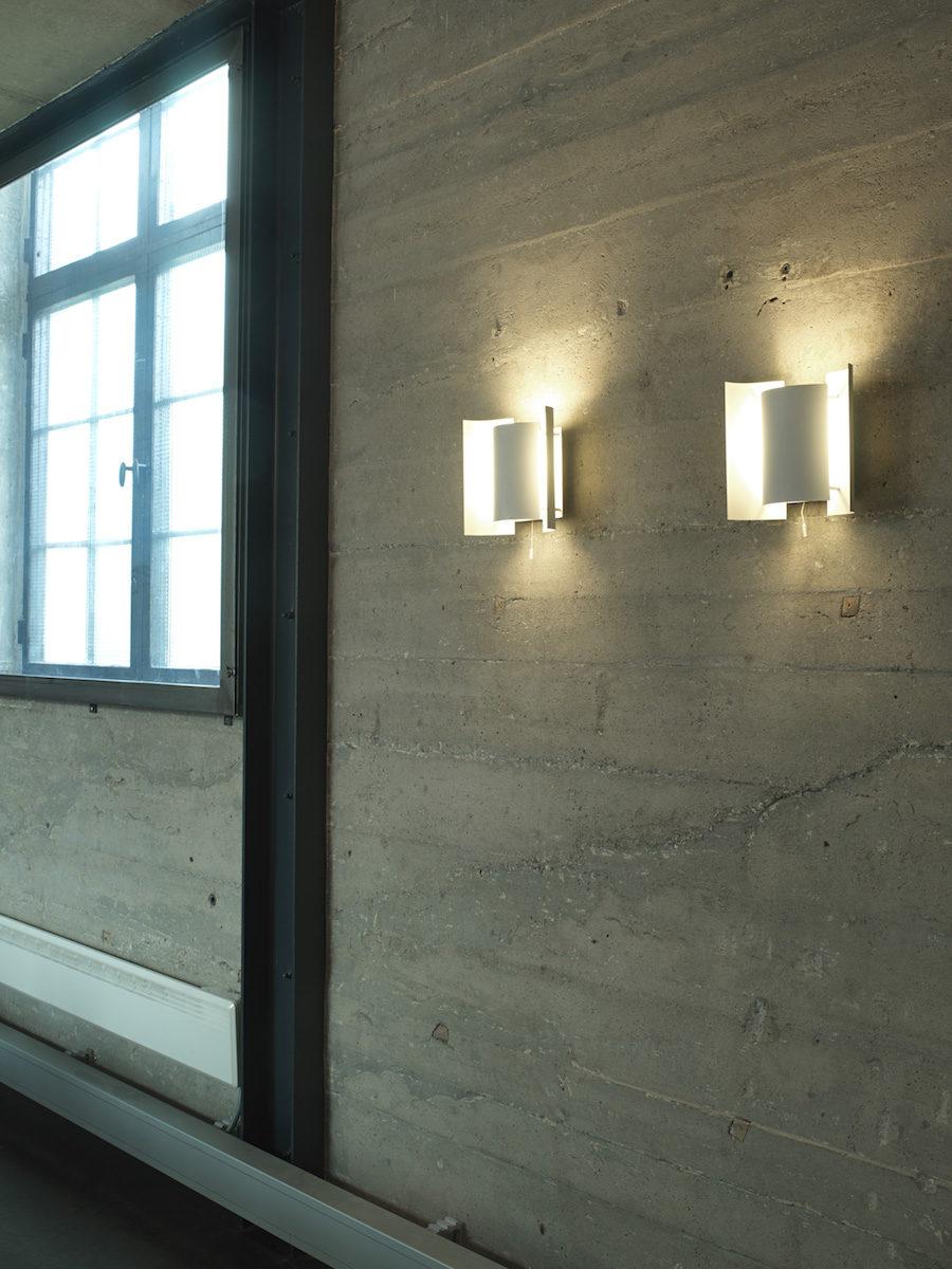 Designföretaget Northern har tagit upp produktionen av vägglampan Butterfly designad av Sven I. Dysthe.
