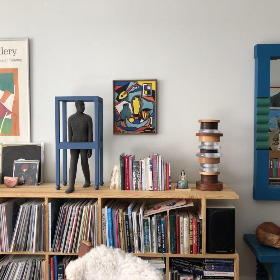Bild på sideboard hemma hos Leo Forssell.