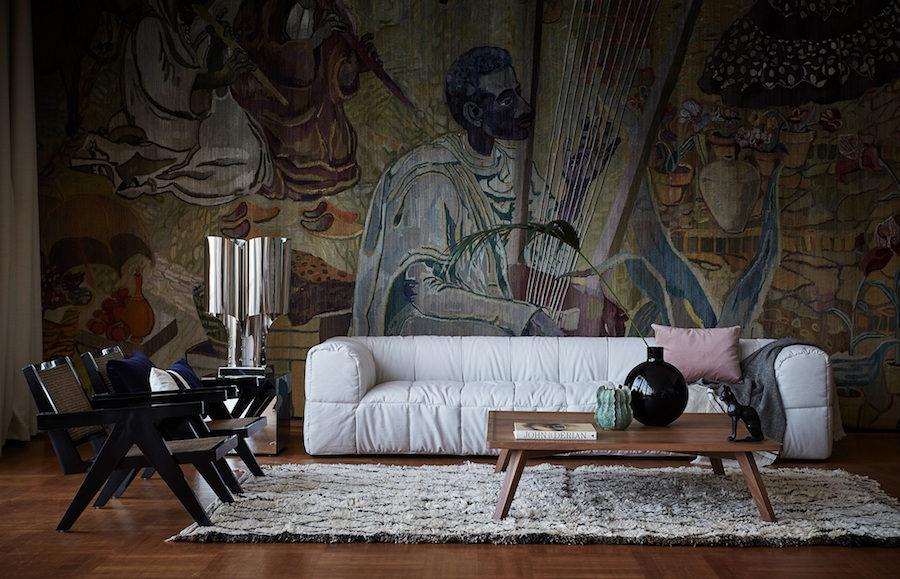 Bild på soffa inuti Konserthuset i Göteborg