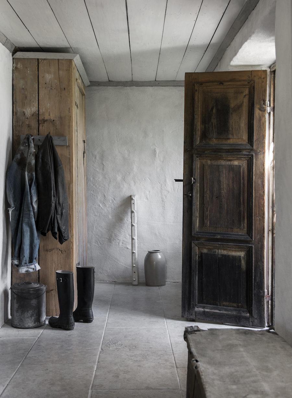 Hallen hemma hos paret Lindskog-Sundström på Väte, Gotland.