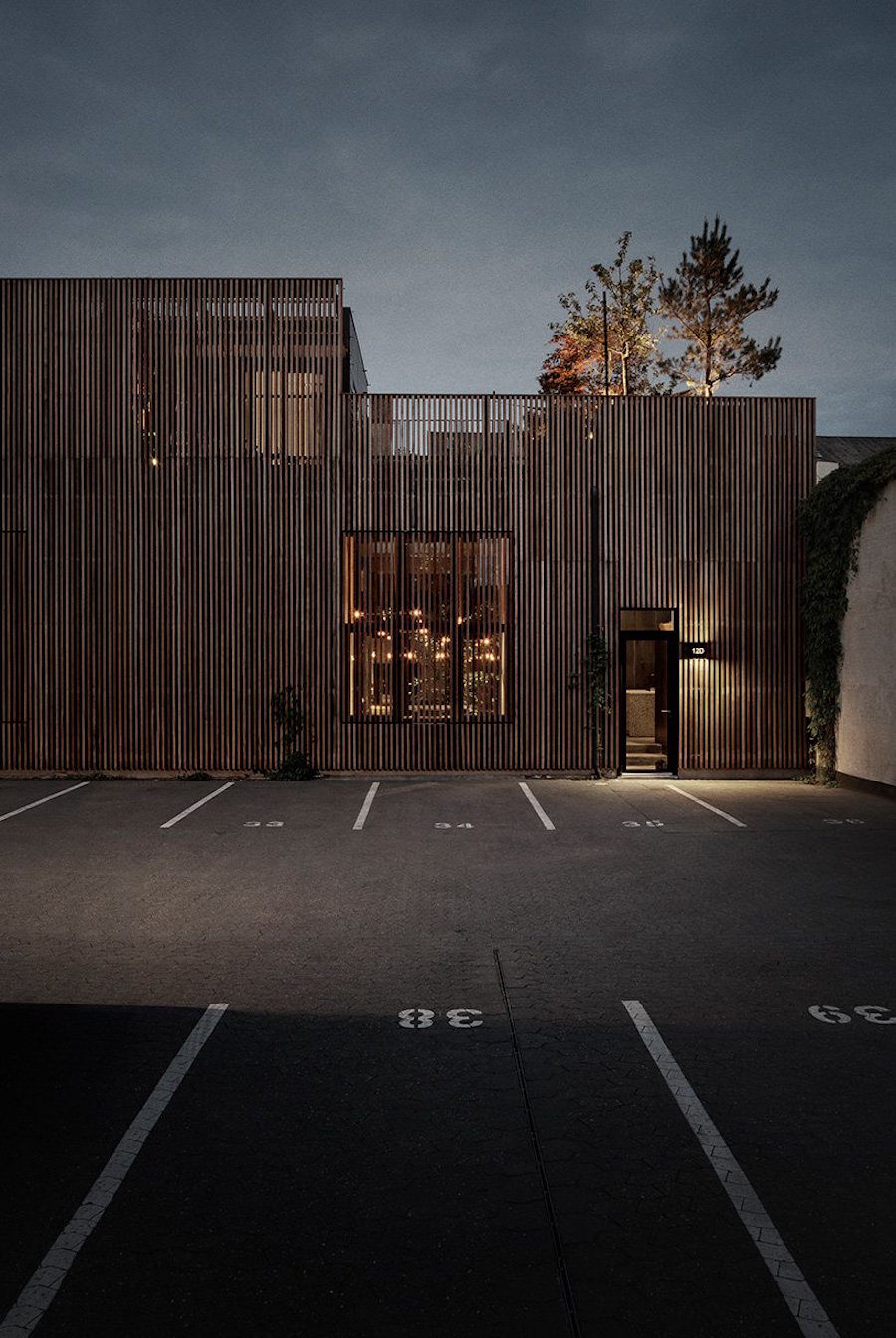 Peter Krasilnikoffs hem är ritat av Studio David Thulstrup i Köpenhamns hamnområde.
