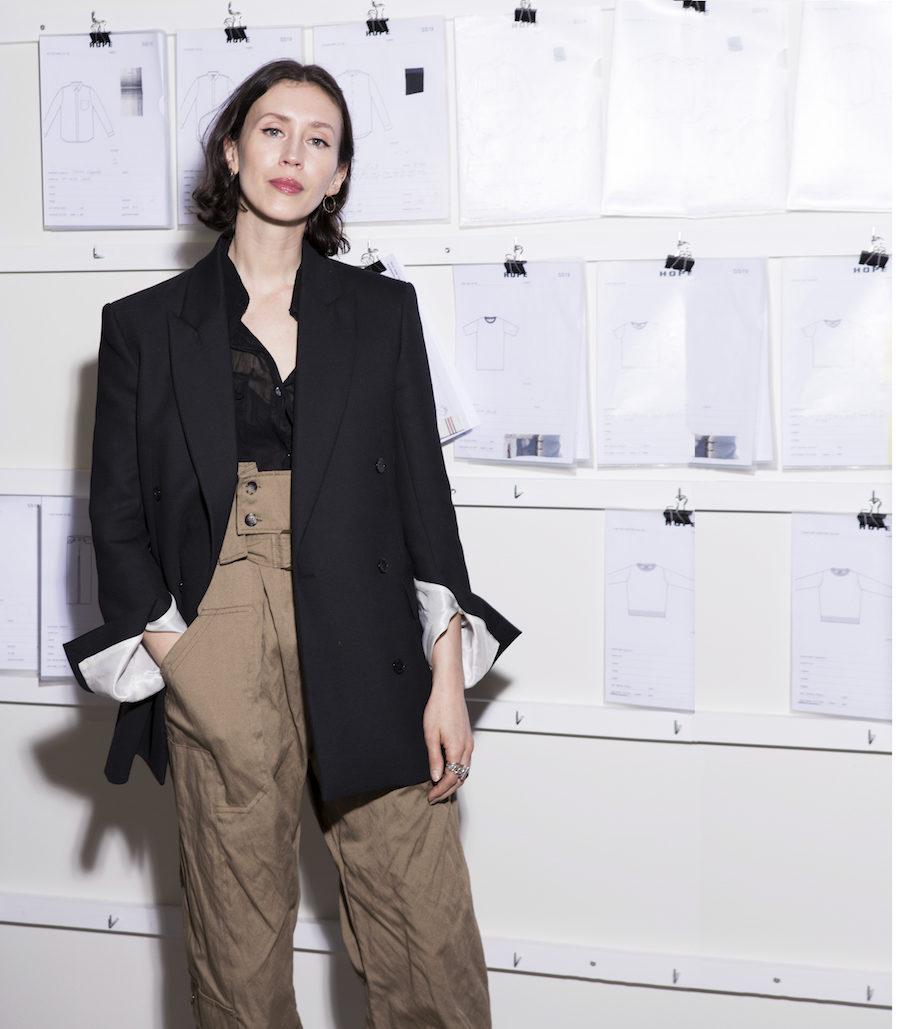 Bild på Hopes chefsdesigner Frida Bard.