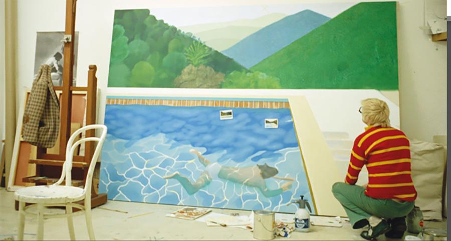 David Hockneys Tavla Kan Bli V 228 Rldens Dyraste Residence