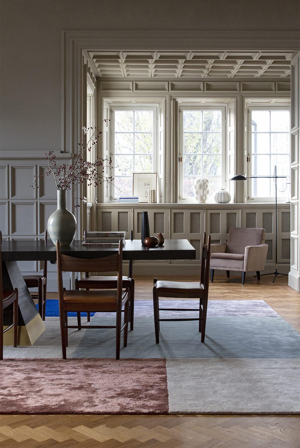 Layered lanserar nya mattor i skandinavisk stil