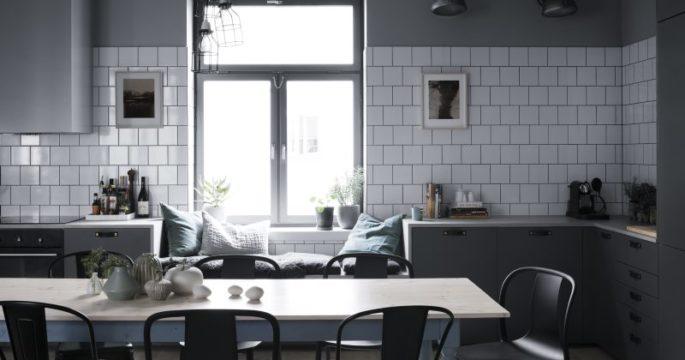 Kombinerade industriellt och sekelskifte – fick fram lägenhetens själ