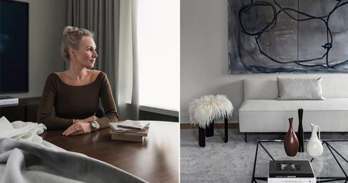 Kika in hemma hos inredaren och tv-stjärnan Hanna Wessman