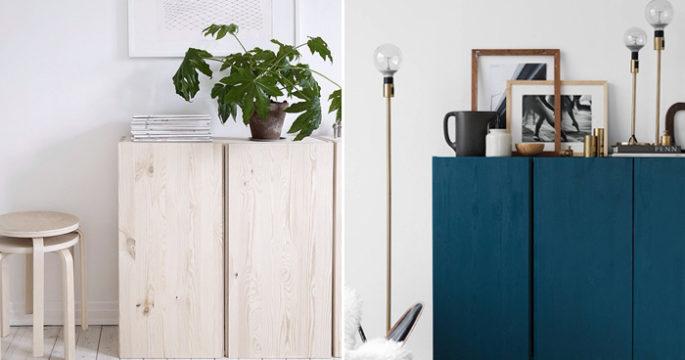11 snygga sätt att styla Ikea-skåpet Ivar