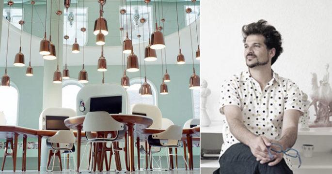 Hayon har inrett hotell världen över – spana in hans senaste verk