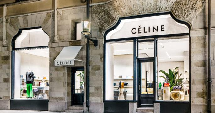 Céline har öppnat butik – med en interiör utöver det vanliga