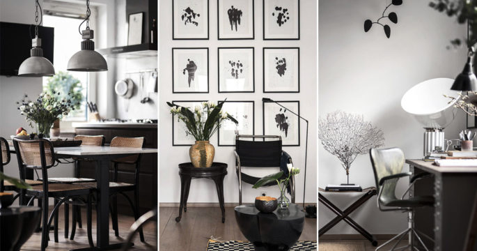 Inredningsexpertens hem till salu: Optimal etta med studiokänsla