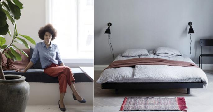Hemma hos modedesignern Yvonne Kone i Köpenhamn