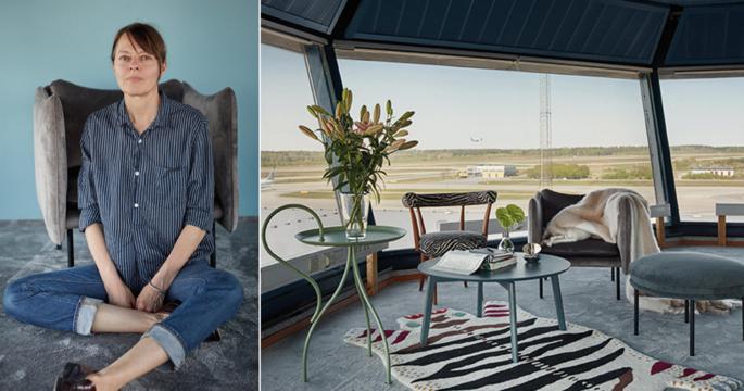 Övergivna Arlanda-tornet har omvandlats till designboende