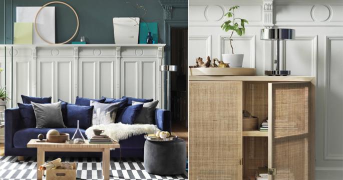 Kika in i lägenheten – helt inredd med Ikea Stockholm 2017